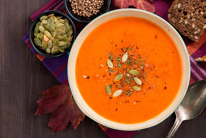рецепты овощных супов при остром панкреатите